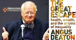 """Angus Deaton and his book, """"The Great Escape"""