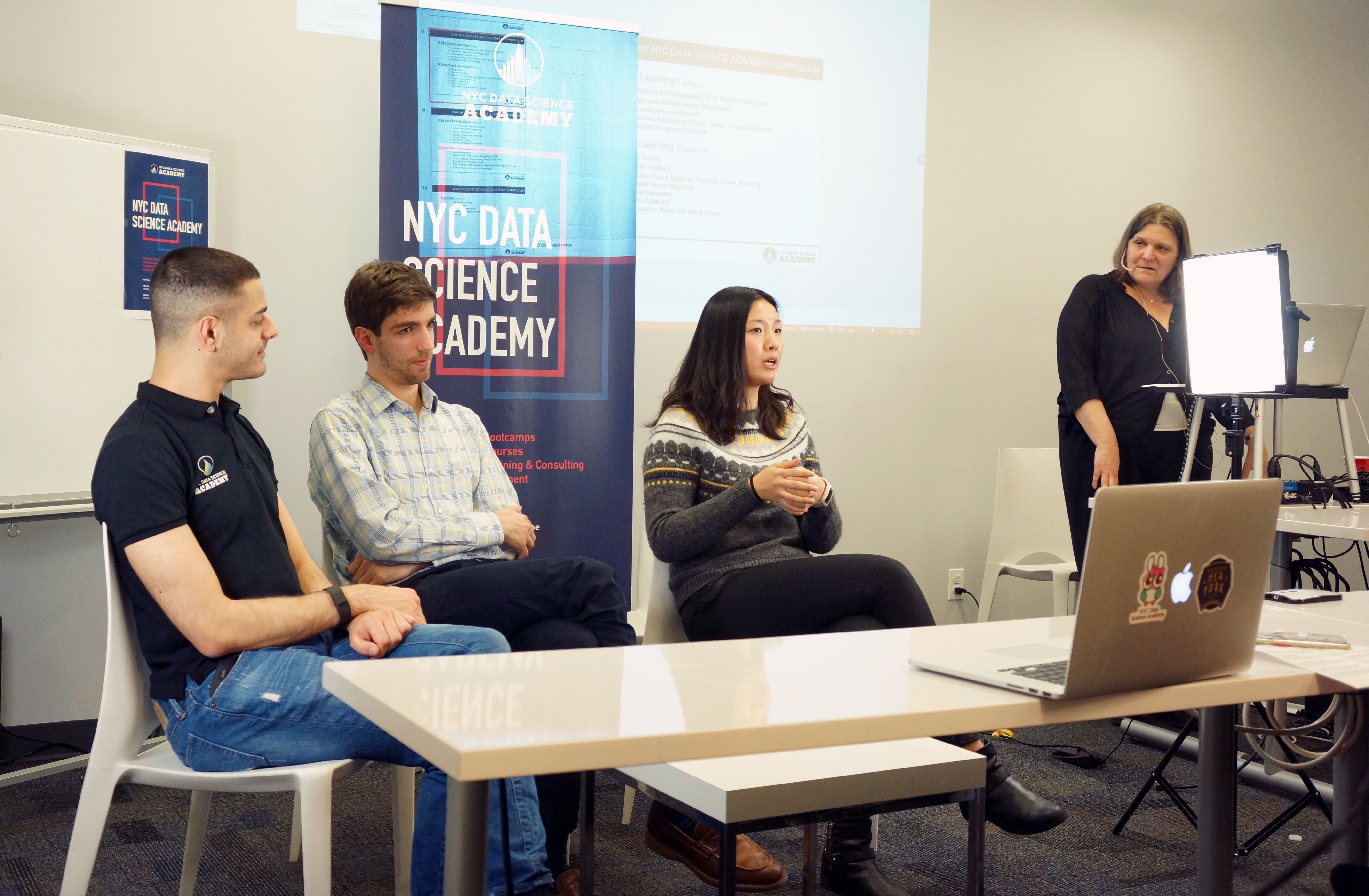 Data Science Bootcamp Open House Alumni Panel Discussion