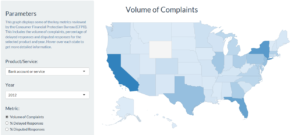 State complaint volume