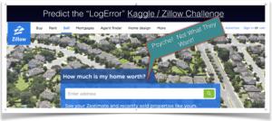 Zillow / Kaggle Challenge