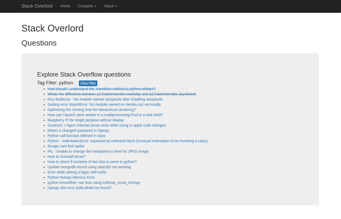 StackOverflowQuestionPageWithCompletedQuestionsAndTagFilterS6