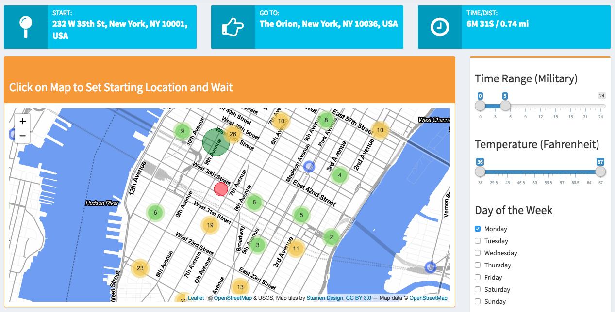 Uber Optimization: Finding Passengers Faster | NYC Data
