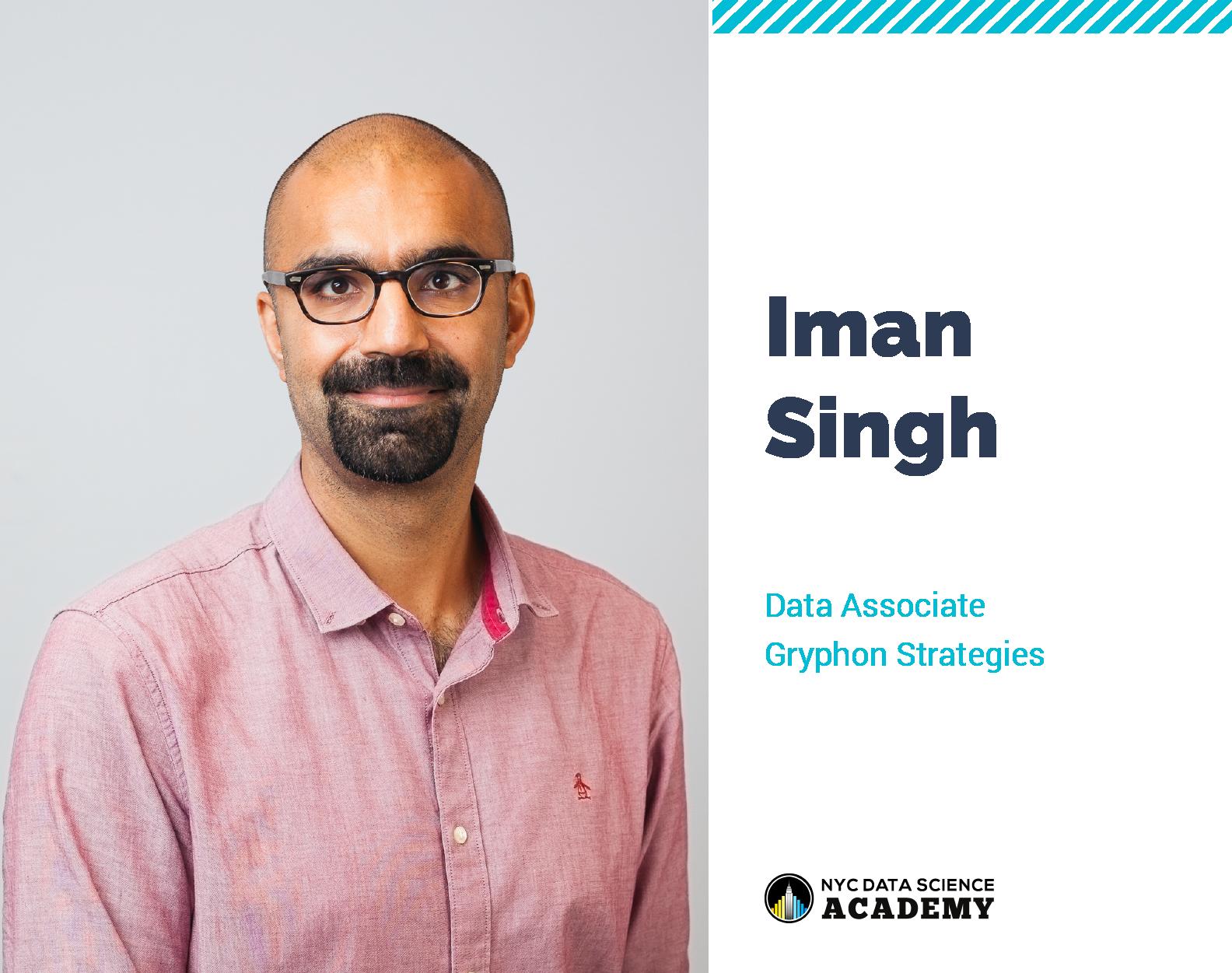 Iman Singh - Data Science