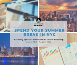 NYCDSA Special Summer 2019 12 Week Data Science Bootcamp
