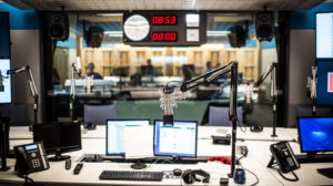 All Things Considered studio in NPR HQ.