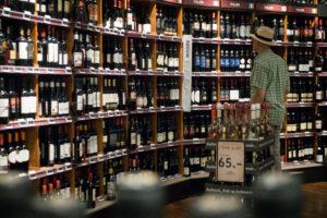 Wine shopping...