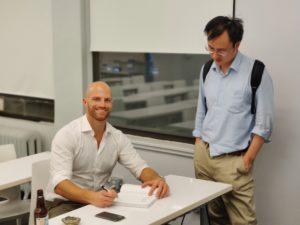 Jon Krohn_Book Signing