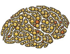 sentiment emoji brain