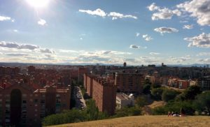 A typical sunny day in Madrid