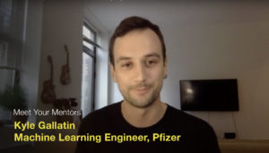 Meet Your Mentor with Kyle Gallatin, Machine Learning Engineer at Pfizer